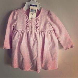 Girls PRL Long Sleeve Dress with Diaper Cover